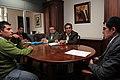 Ceremonia de Deposito del Instrumento de Ratificación al Protocolo Adicional al Tratado Constitutivo de la Unión de Naciones Suramericanas UNASUR. Sobre Compromiso con la Democracia por Parte de la República de Chile (6982591581).jpg