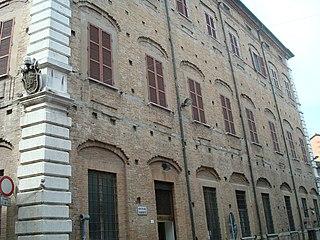 building in Cesena, Italy