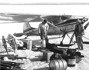 Arctic Flight - The Cessna 170B was a bush plane workhorse used in Arctic Flight.