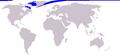 Cetacea range map Narwhal.png