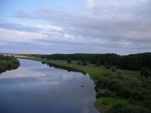 Chachersk - Sozh River