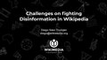 Challenges on fighting Disinformation in Wikipedia.pdf