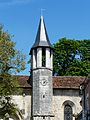 Champagnac-de-Belair église clocher latéral (1).JPG