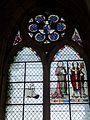 Champeaux (77), collégiale St-Martin, collatéral nord, vitrail de la 1ère travée 1.jpg