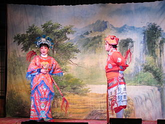 Huaguxi - Image: Changsha Flower Drum Song 6