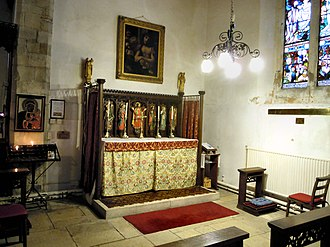 St Michael and All Angels, Great Torrington - The Chapel of St James