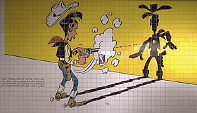 Lucky Luke, l'homme qui tire plus vite que son ombre