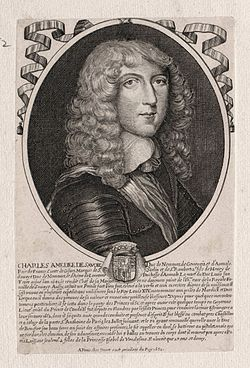 Charles Amédée of Savoy, Duke of Nemours in 1652.jpg