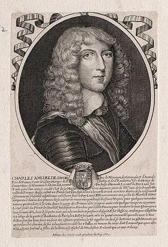Charles Amadeus, Duke of Nemours - Image: Charles Amédée of Savoy, Duke of Nemours in 1652