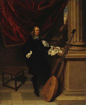Charles Emmanuel Biset - Portrait of a Musician