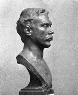 Walter Elmer Schofield - Bust of W. Elmer Schofield (1905), by Charles Grafly, National Academy of Design