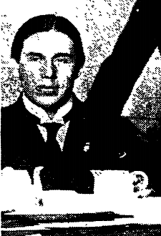 Charles Lapworth (journalist) - Lapworth in 1913