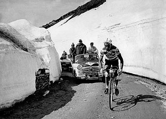 Charly Gaul - Gaul at the 1959 Giro d'Italia