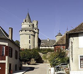 A view of the Castle of Caussac-Bonneval