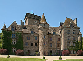 Chateau of Pesteil