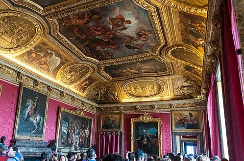 Grand appartement du roi wikipedia for Salon du vin versailles