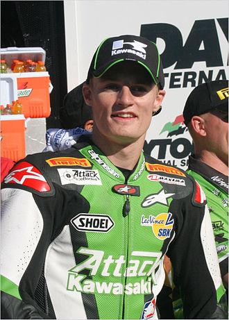 Chaz Davies - Davies at the 2008 Daytona 200