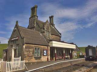 Cheddleton railway station grade II listed train station in the United kingdom