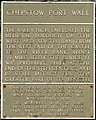 Chepstow - Port Wall plaque - geograph.org.uk - 545570.jpg