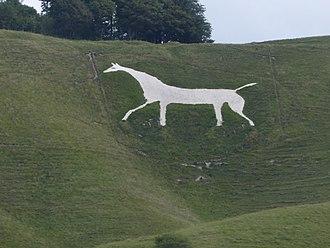 Cherhill White Horse - Cherhill White Horse in 2015