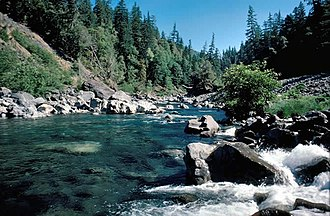 Chetco River - Chetco River near Boulder Creek