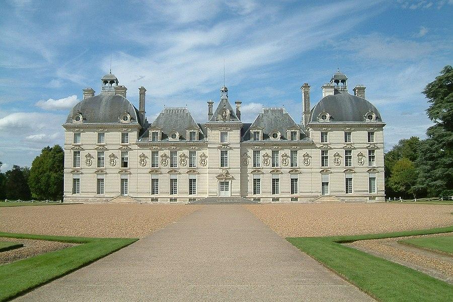 Château de Cheverny, vue de face,FRANCE
