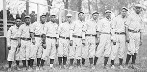 Negro league baseball - Chicago Union Giants in 1905