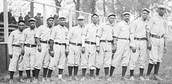 Chicago Union Giants in 1905