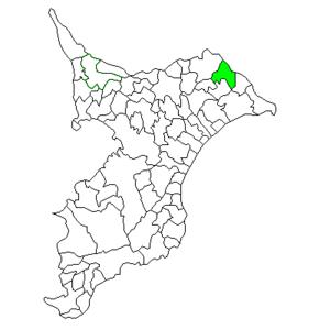 Omigawa, Chiba - Image: Chiba Omigawa town