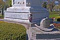 Chicago Volunteer Firefighters Memorial by Leonard Volk -- Rosehill Cemetery Chicago (IL) April 2012 (6945647596).jpg