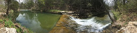 Travertine Creek in Chickasaw National Recreation Area, Oklahoma Chickasaw National Recreation Area, OK.jpg