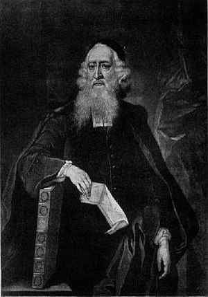 Aaron Hart (rabbi) - Mezzotint by James Macardell, 1751