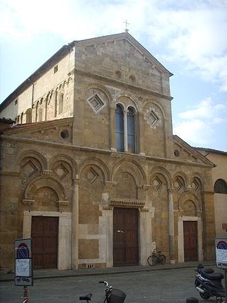 San Frediano, Pisa - The church of San Frediano
