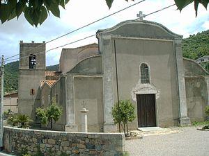 Gonnosfanadiga - Church of santa Barbara.