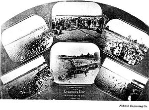 Britannia, Ottawa - Children's Day 1904 Britannia-On-The-Bay