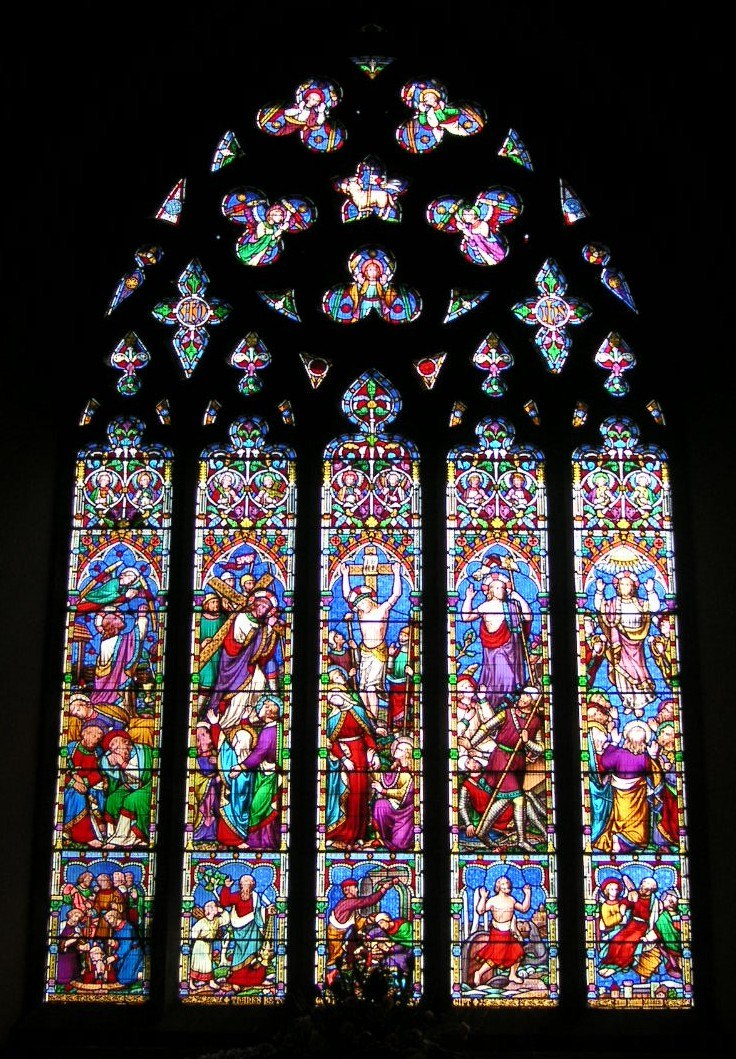 Chilham StMarys EastWindow19thC