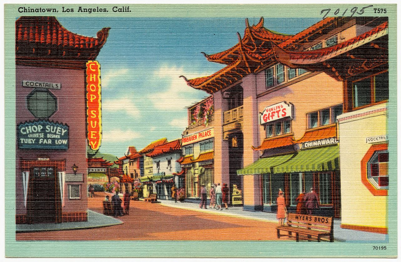 Los Angeles Chinatown Lettacle Cake