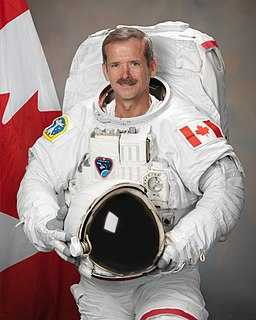 Chris Hadfield retired Canadian astronaut