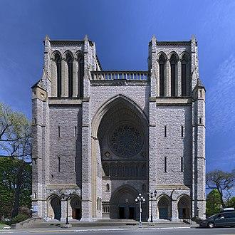 Christ Church Cathedral (Victoria, British Columbia) - Image: Christ Church Cathedral (Victoria) pano hdr