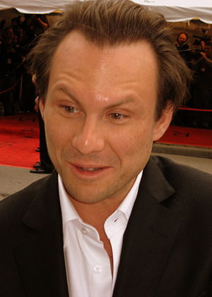Bobby (2006 film) - Image: Christian Slater at the premiere of Bobby, Toronto Film Festival 2006