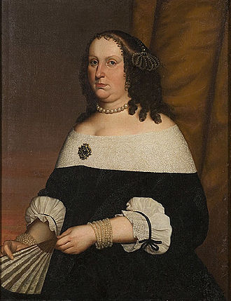 Christina Magdalena of the Palatinate-Zweibrücken - Princess Christina Magdalene by an unknown contemporary artist