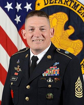 Senior Enlisted Advisor for the National Guard Bureau - Image: Christopher S. Kepner (2)