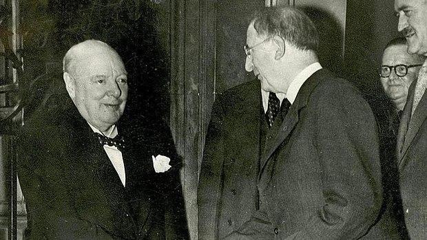 Churchill and De Valera 1953