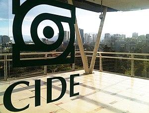Centro de Investigación y Docencia Económicas - Image: Cide vidrio mid