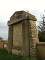 Cimitirul ostaşilor germani (1916 - 1919) - element intrare.JPG