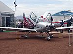 Cirrus SR22 Australis (N318KK) on display at the 2015 Australian International Airshow 2.jpg