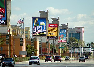 Commerce, California - Image: Citadel Outlets & Commerce Casino
