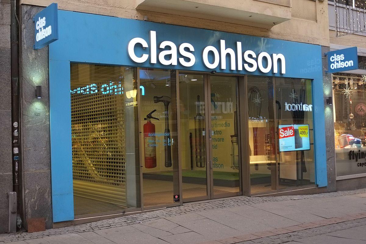 Clas Ohlson Wikipedia
