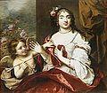 Claude Lefebvre 1632-1675, Marie-Louise Rouxel de Médavy, Mademoiselle de Grancey, portrait présumé au moment de son mariage en 1665 Versailles et Trianon.jpg