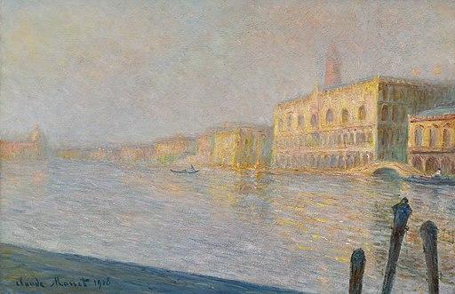 Claude Monet - Le Palais Ducal